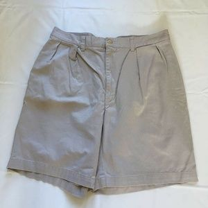 Polo Ralph Lauren Mens 100% Cotton Khaki Shorts 35
